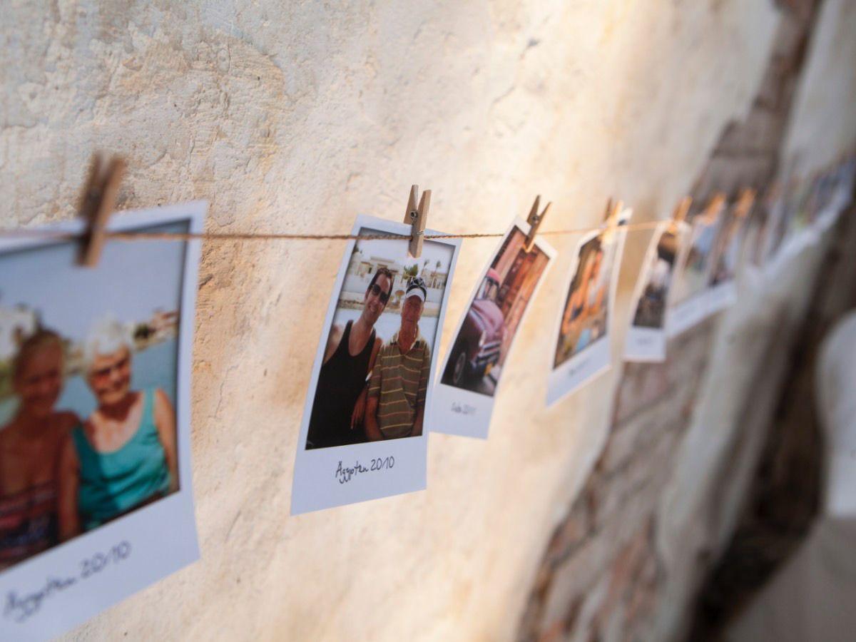 DIY wedding Liebesgeschichte Polaroid