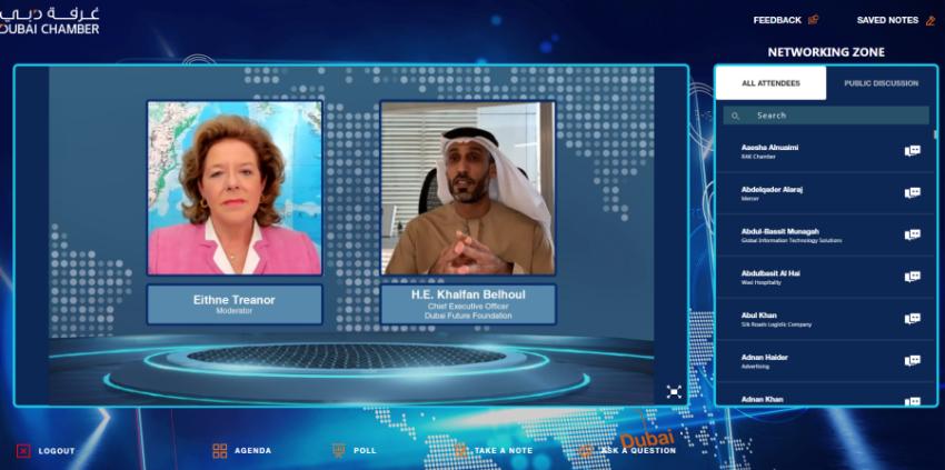 خلفان بلهول دبي طورت تجربة عالمية في تبني الابتكار وريادة الأعمال In 2021