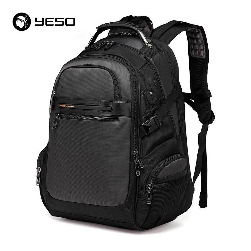 fc69482a66a9 YESO New Men s Laptop Backpacks 2018 Business Casual Back Pack in 2019