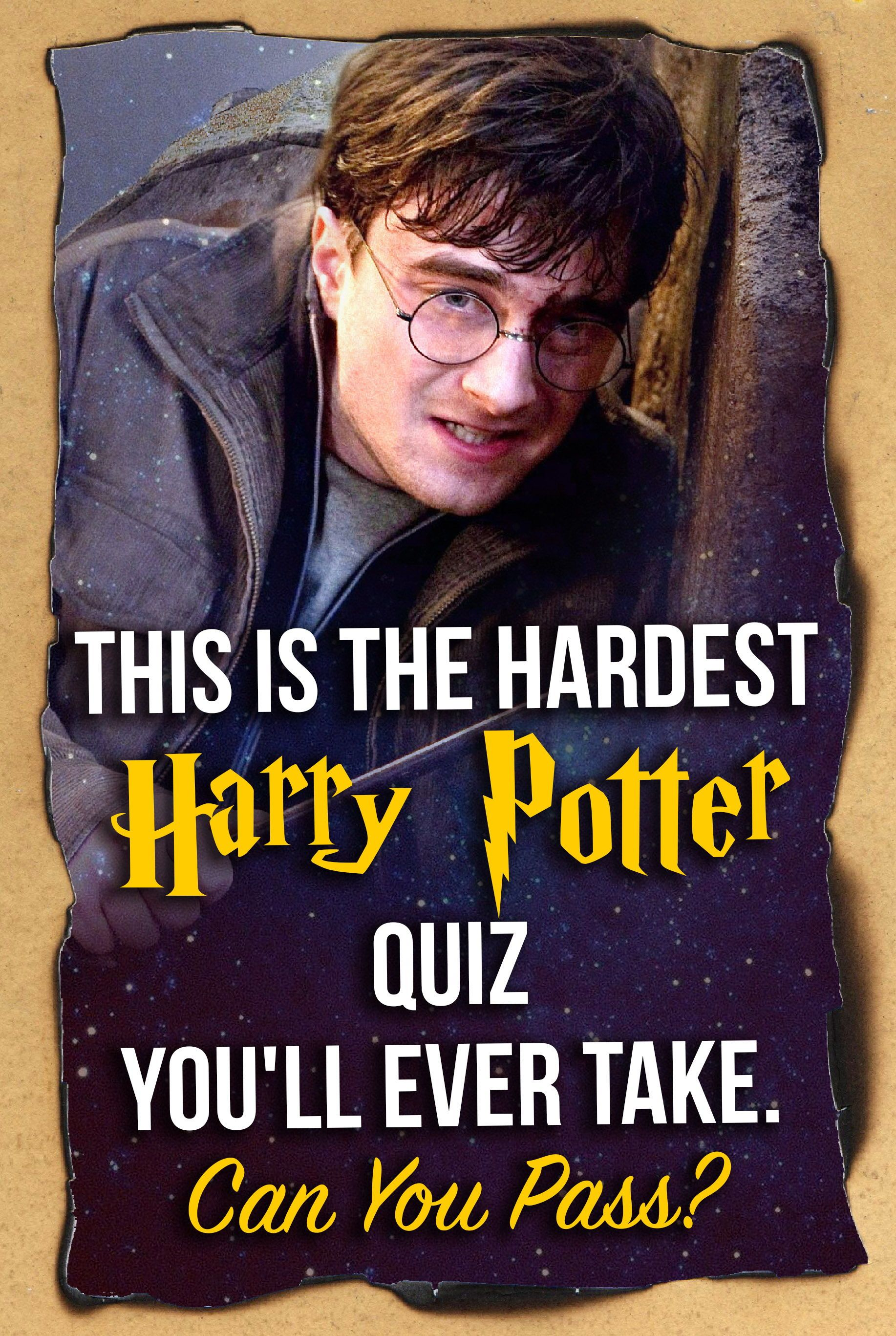 This Is The Hardest Harry Potter Quiz You Ll Ever Take Can You Pass Harry Potter Quiz Hardest Harry Potter Quiz Harry Potter House Quiz