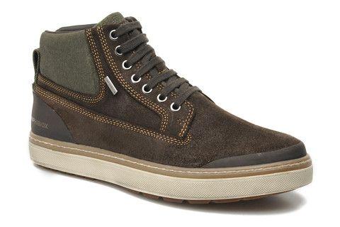 6eb6f7f269985 Nuevos zapatos deportivos Geox Amphibiox en una preciosa piel de nobuck  engrasada.
