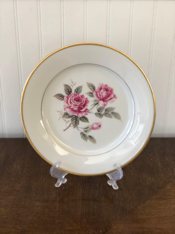 Vintage Noritake China Salad Plate Lindrose Pattern 5334