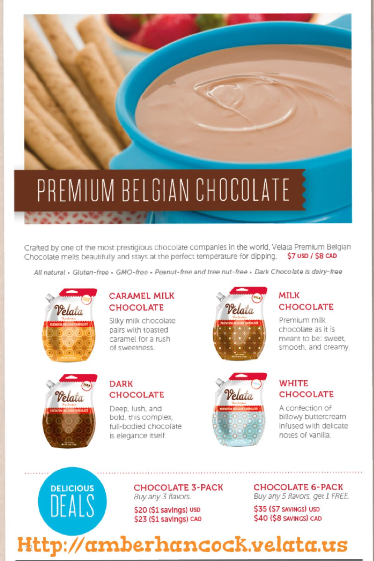 Velata Summer Catalog 2014 Fondue Fun with chocolate or cheese for ...