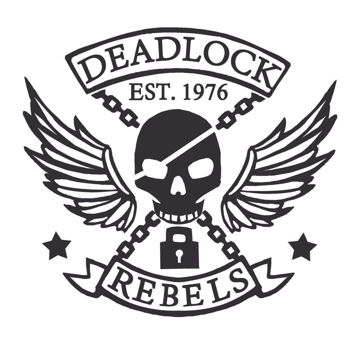 "Overwatch McCree Tattoo ""Deadlock Rebels"" Gang Logo drawn"