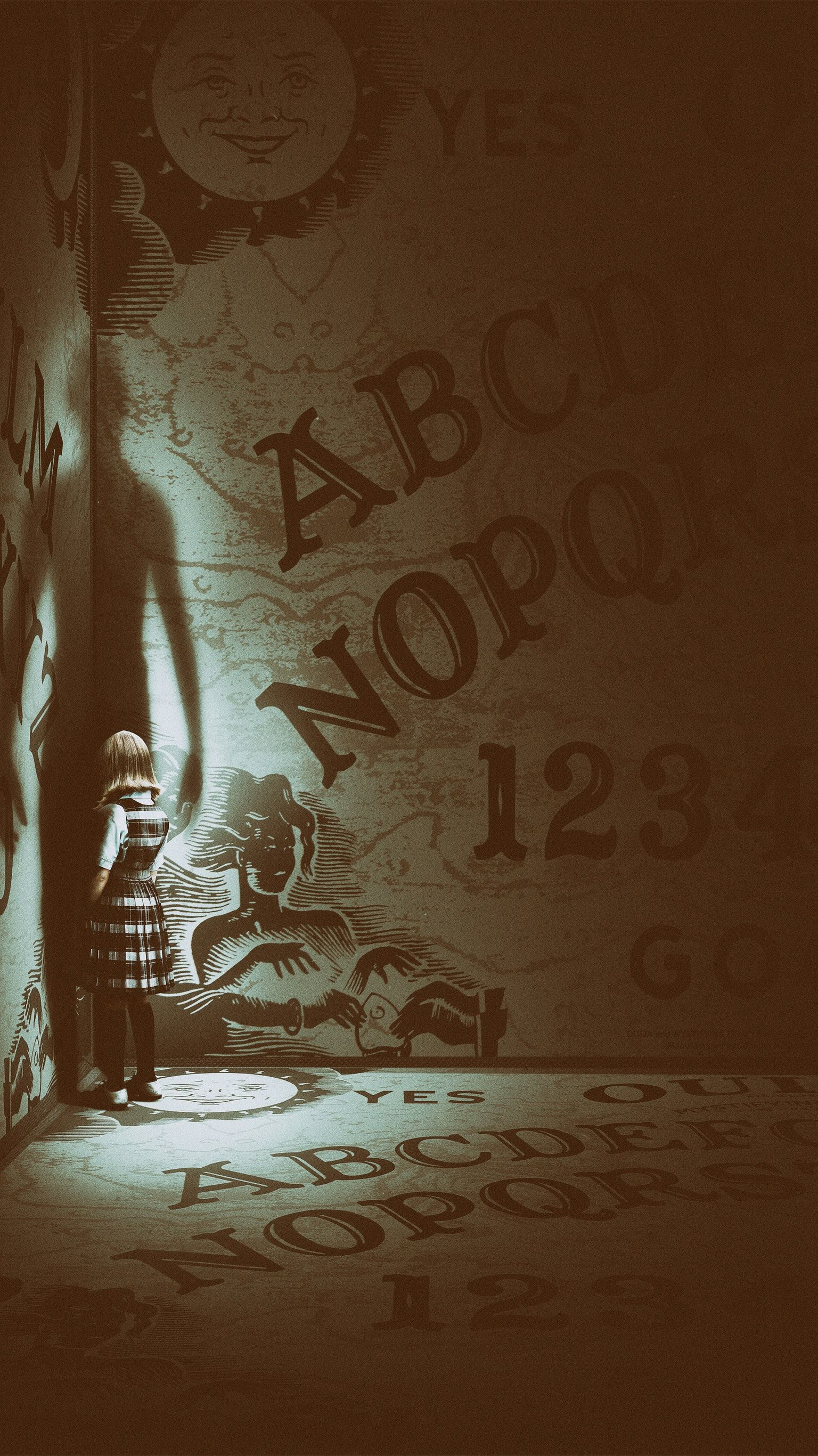 Ouija Origin Of Evil 2016 Phone Wallpaper With Images Scary