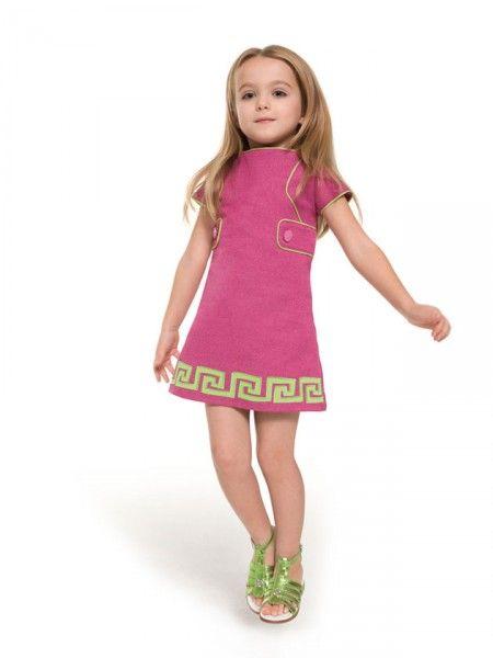 Verde e rosa! O vestido sai por R$ 1.606 - Versace