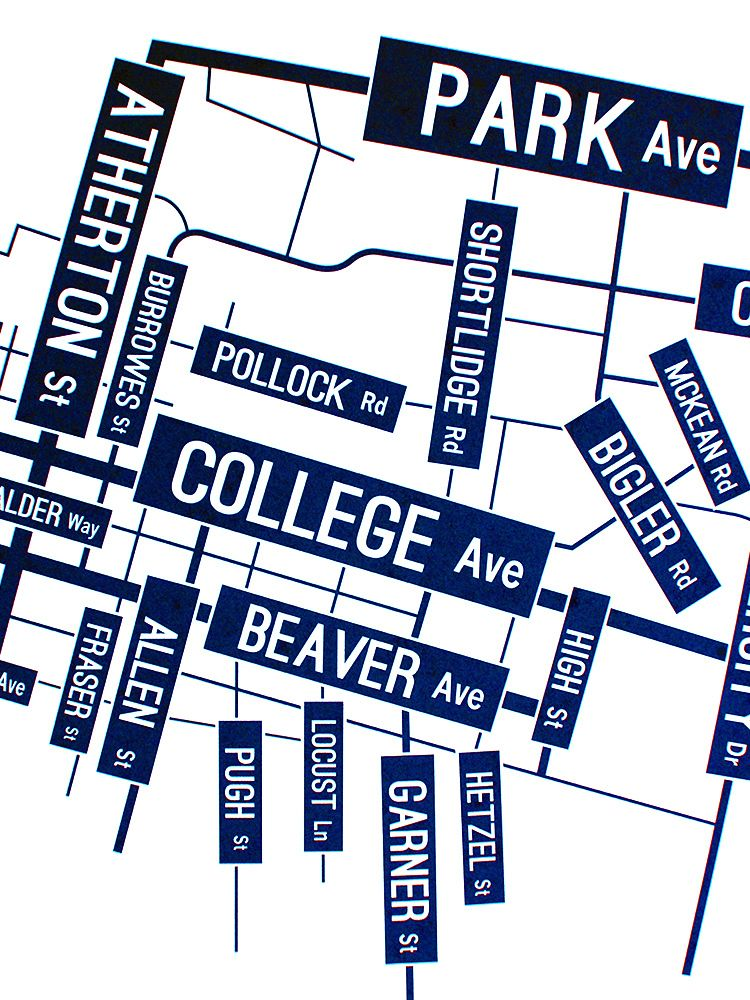 University Park Penn State Map.Penn State Nittany Lions In State College Pennsylvania University
