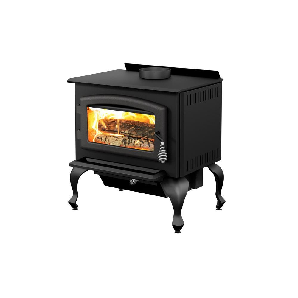 Drolet Columbia 26 in. 1600 sq. ft. EPA Certified Wood-Burning ...