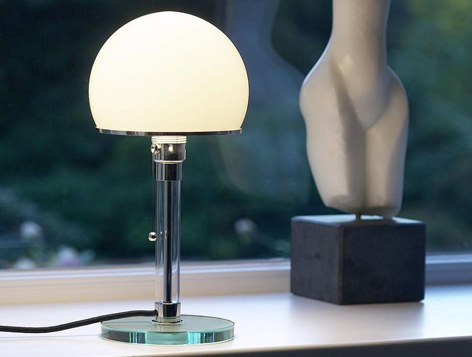 Designer Lampe WG 24 Bauhaus Wilhelm Wagenfeld Wagenfeld