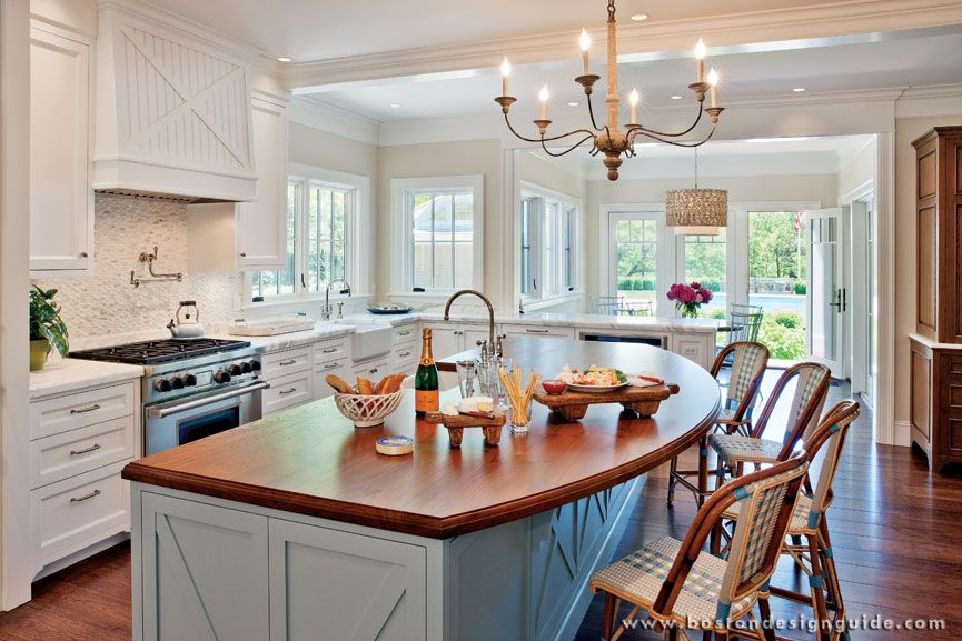 custom kitchen inside luxury cape cod home - Inside Luxury Kitchens