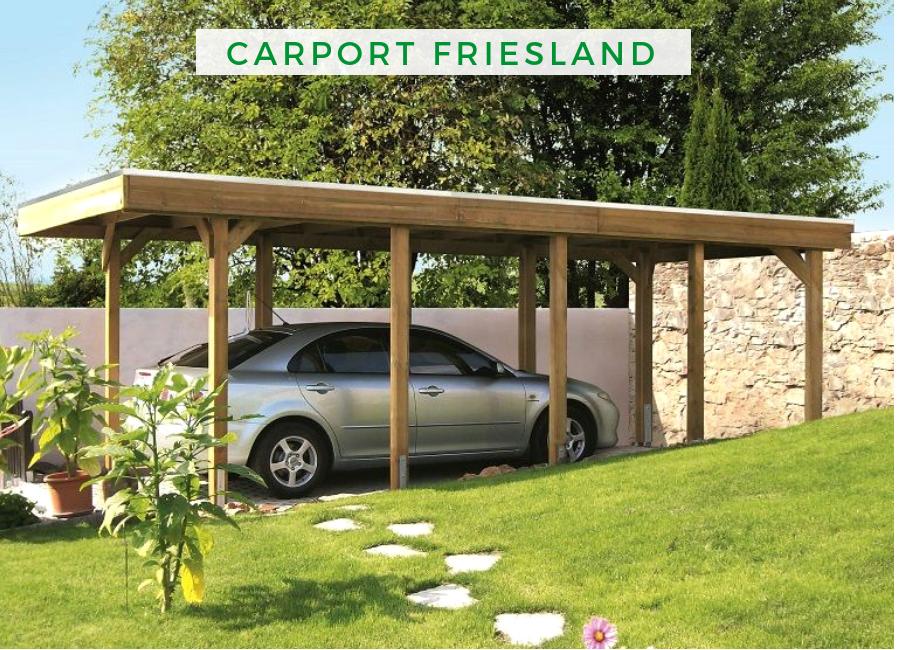 Carport Friesland 397 X 860 Cm Aluminiumdachplatten 314157 50 99 Carport Selber Bauen Planen Und Bauen Carport Bauen