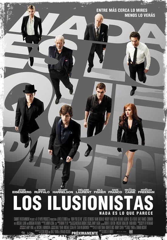 Los Ilusionistas Nada Es Lo Que Parece El Ilusionista Poster De Peliculas Peliculas Completas Gratis