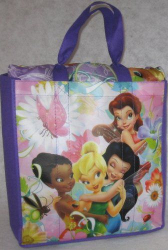 Disney Fairies Tinkerbell Sleeping Bag 3 Pc Set Slumber