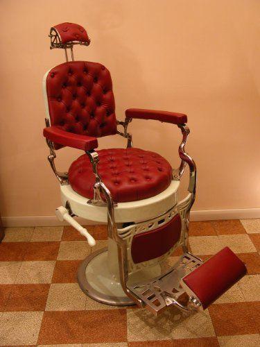 Poltrona barbiere anni 30 italia rodari pinterest for Poltrone da barbiere usate
