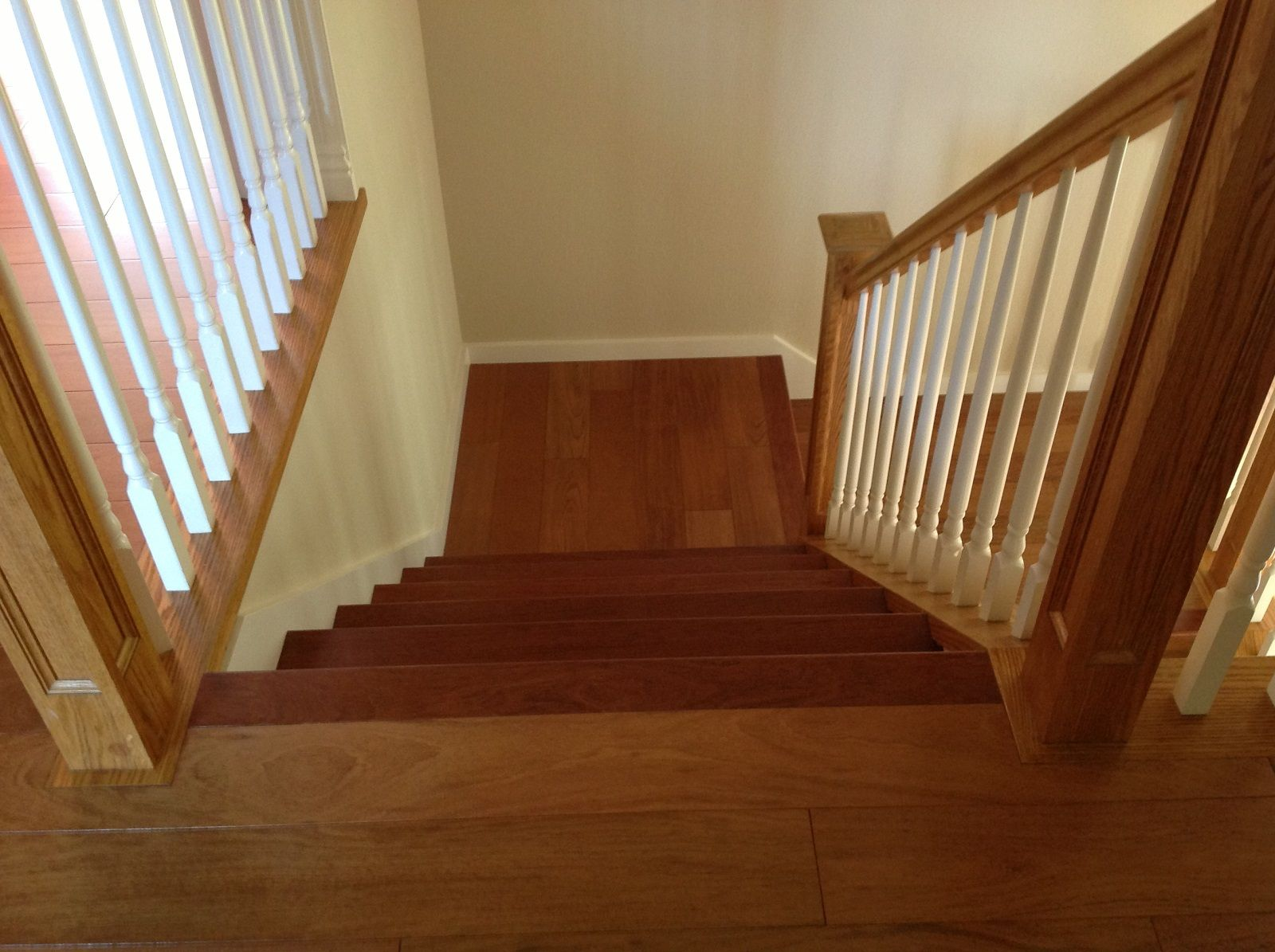 Best Brazilian Cherry Hardwood Stairs Recently Installed By 400 x 300