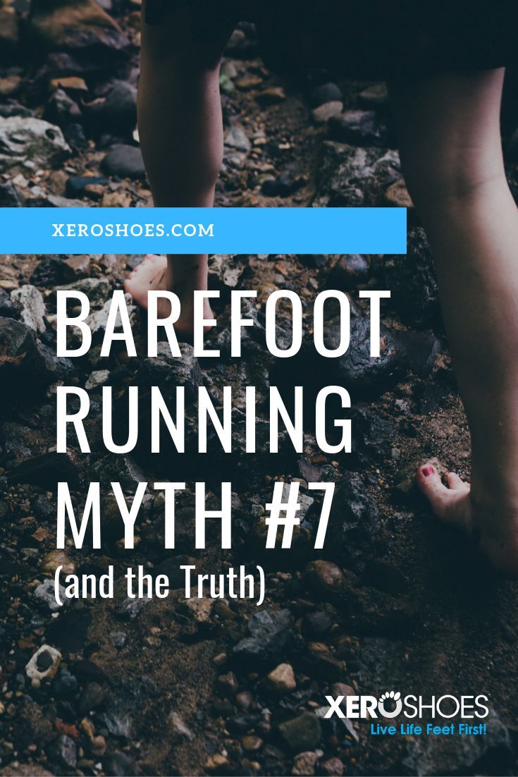 Barefoot running myth number seven. Want to start barefoot running? You need a transition shoe and t...