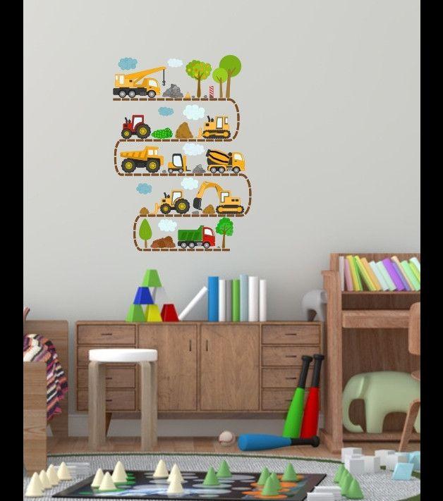 Naklejki Dla Dzieci Na ścianę Auta Samochody Cars Pinterest Babies