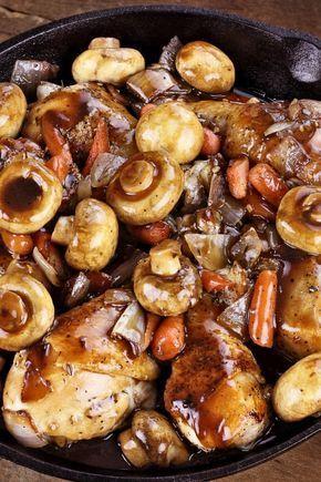 Photo of Rezept für ein leichtes Coq au Vin