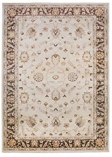 Teppich Wohnzimmer Orient Carpet klassisches Design WINDSOR RUG 100 - wohnzimmer creme rot