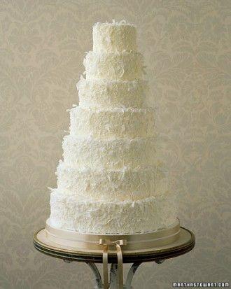 Dreamy Coconut Wedding Cake Recipe Oooooh Cake Wedding