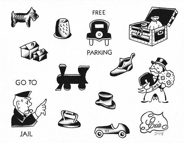 Monopoly Piece Clip Art