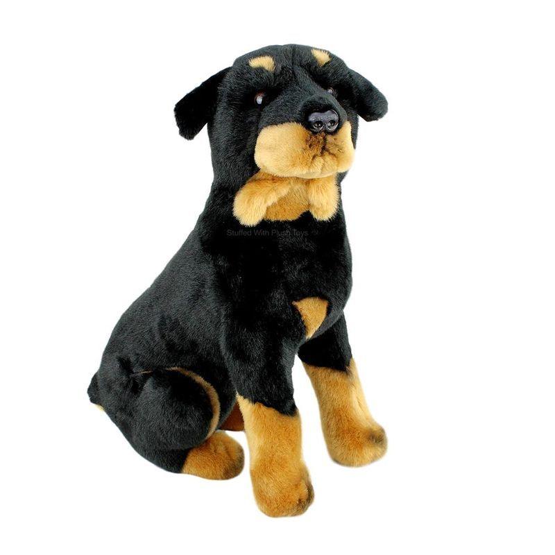 Title Rottweiler Rotty Dog Soft Plush Toy Kujo By Bocchetta