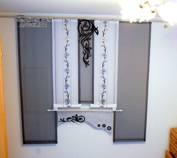 moderne schiebegardinen schiebegardine gardinen und welt. Black Bedroom Furniture Sets. Home Design Ideas