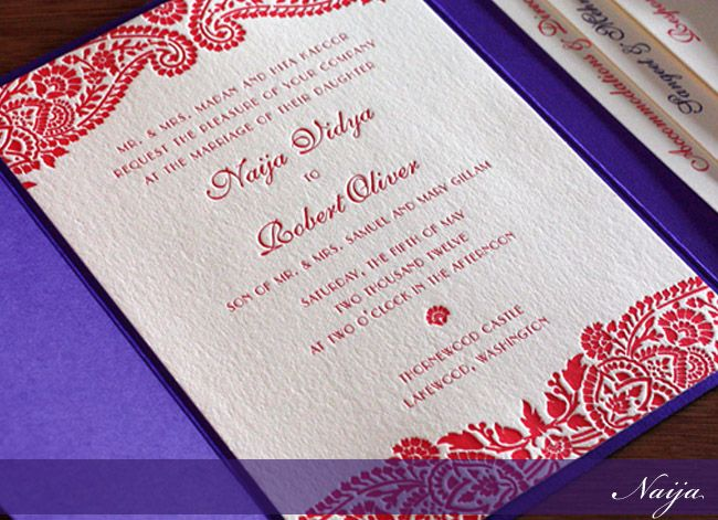 17 Best images about Indian wedding invites – Indian Wedding Invitation Ideas