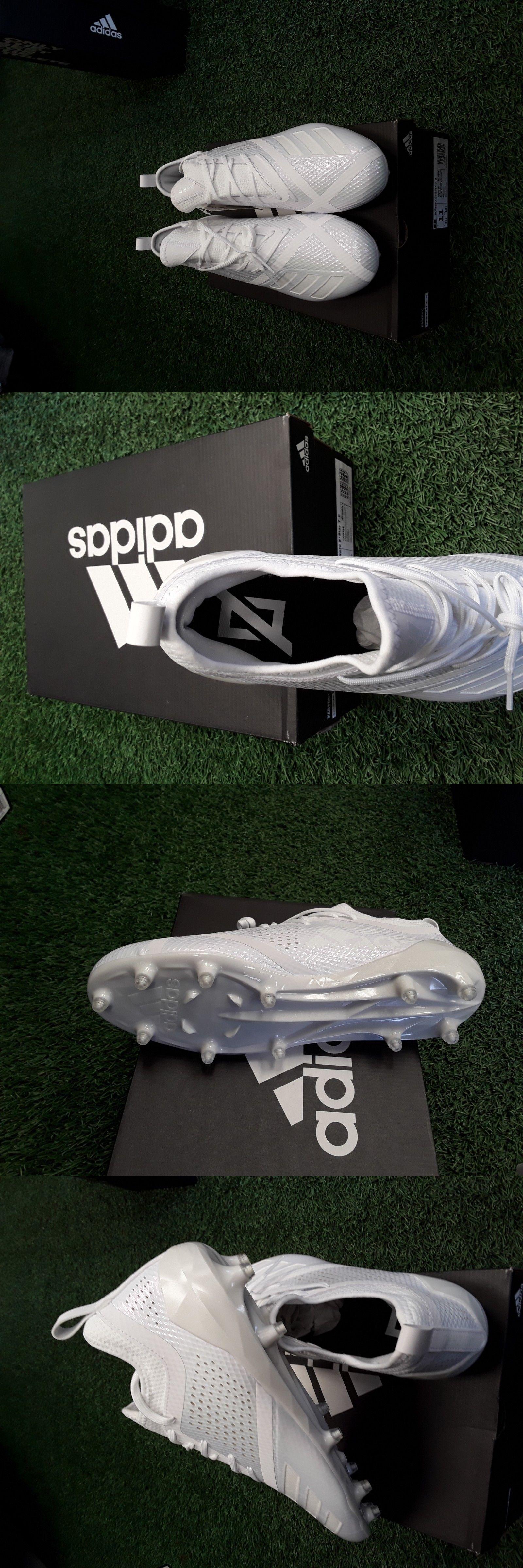 new concept 3ece9 7c56b Football 21214 Adidas Adizero 5-Star 7.0 White White Football Cleats Cq0316  -