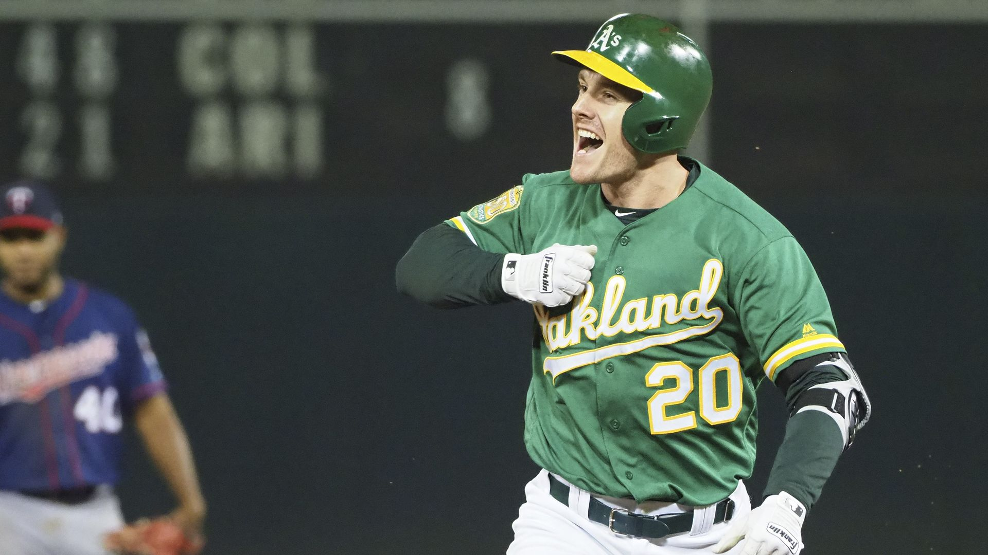Mark Canha reaches career milestone in A's walkoff win