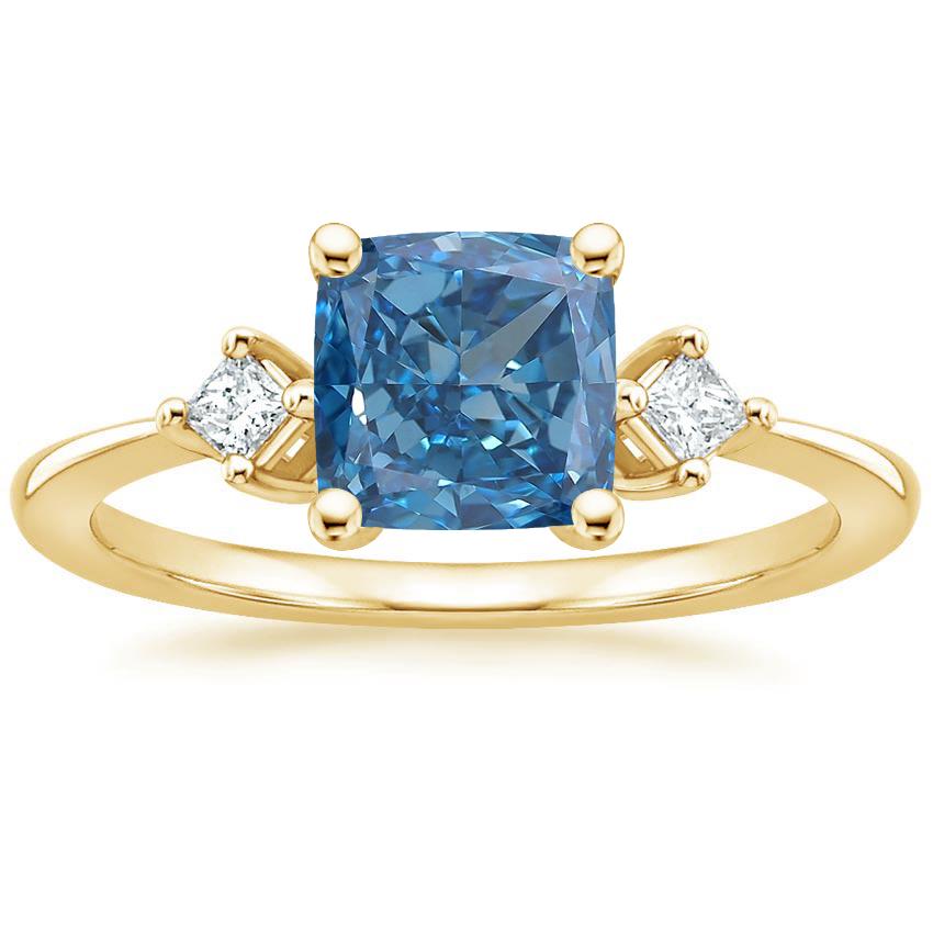18K White Gold Tria Diamond Ring in 2020 Precious metal