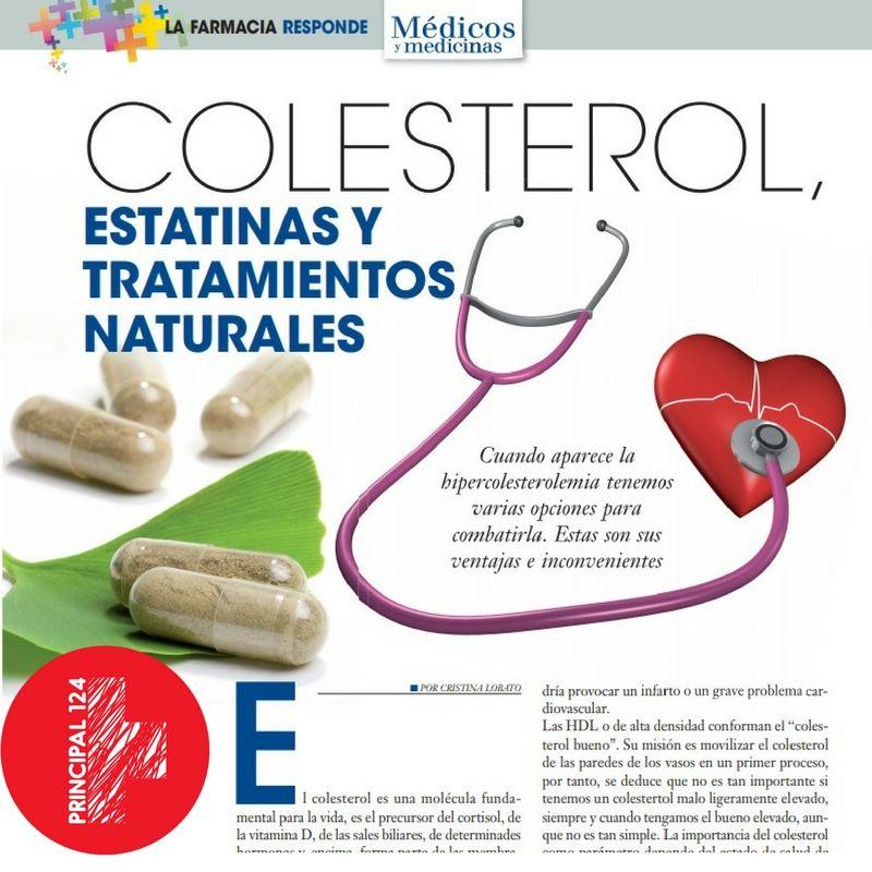 colesterol estatinas y productos naturales