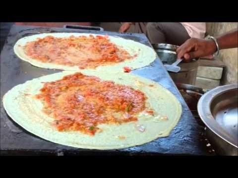 mysore masala dosa in karnataka india youtube not a recipe indian south indian food making roadside in kranataka forumfinder Image collections