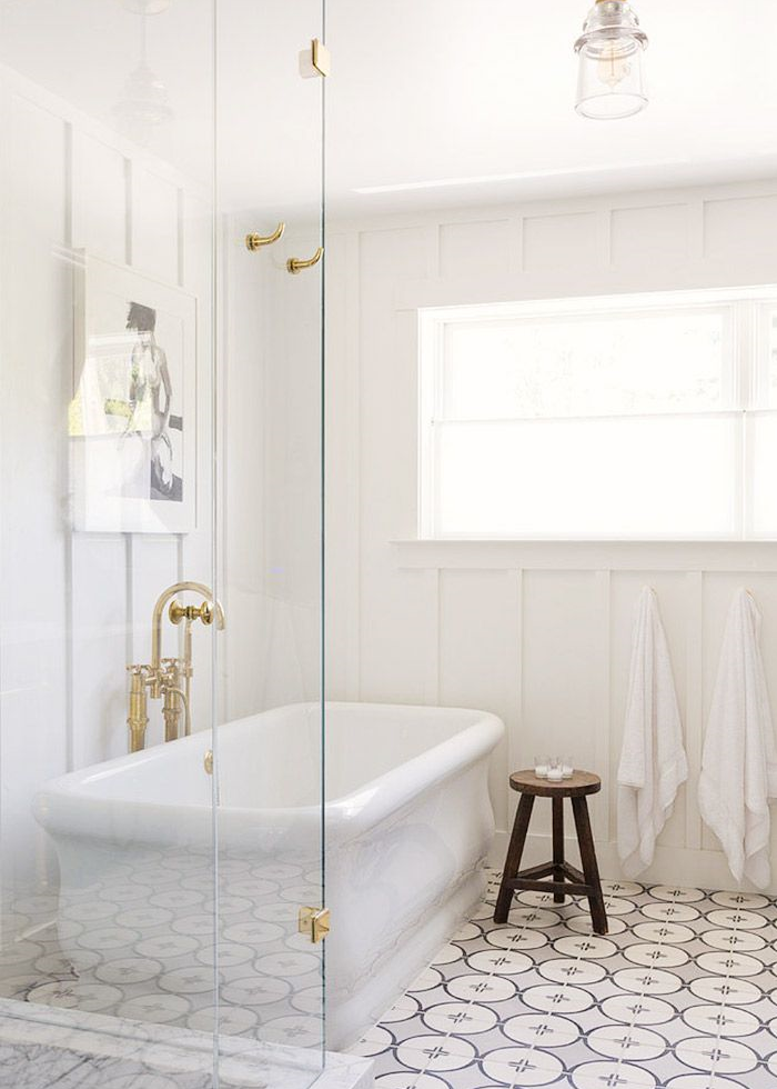 18 Reasons to Fall in Love With Patterned Tile | Livingston, Cement ...
