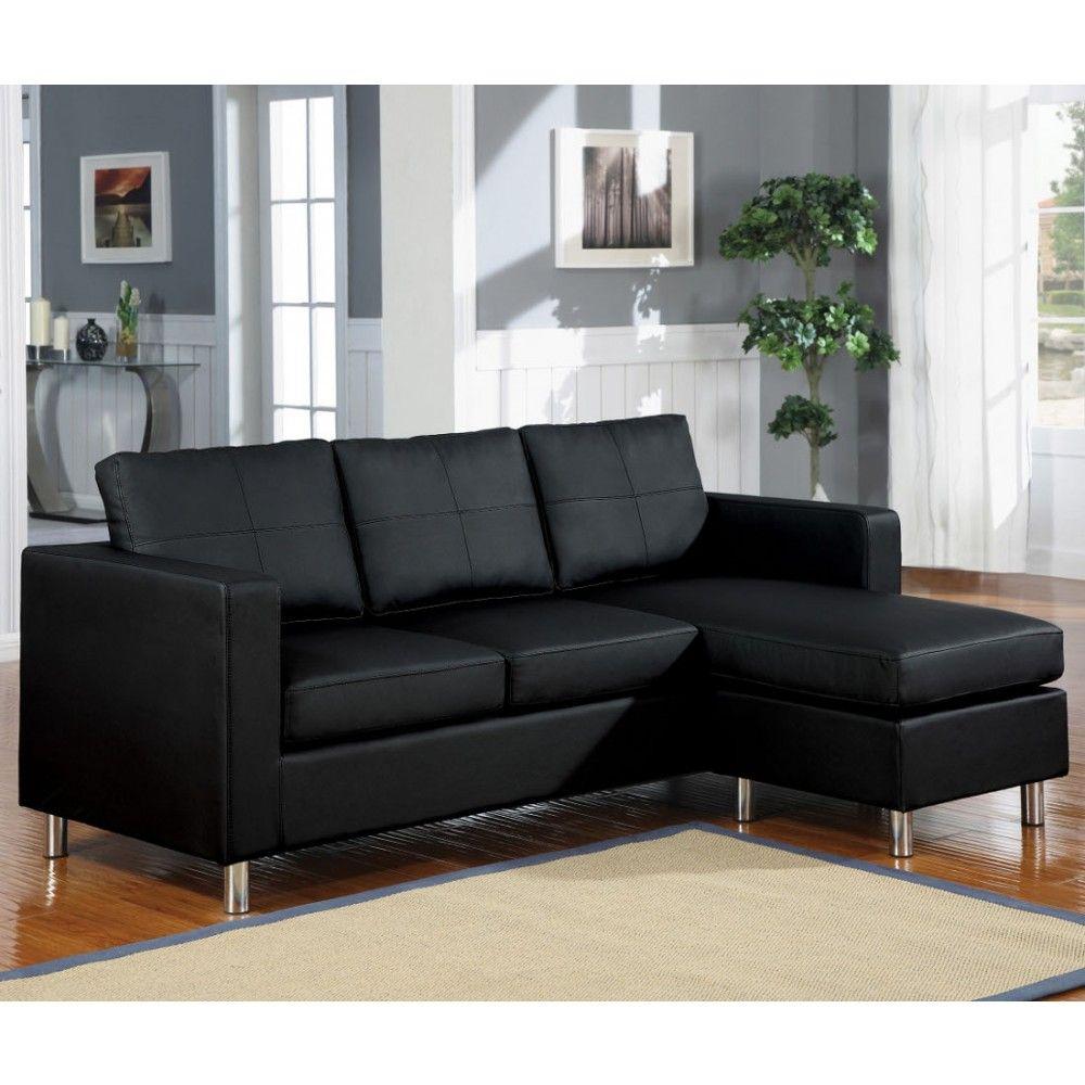 Charmant Acme Furniture Kemen Sectional Sofa In Black PU