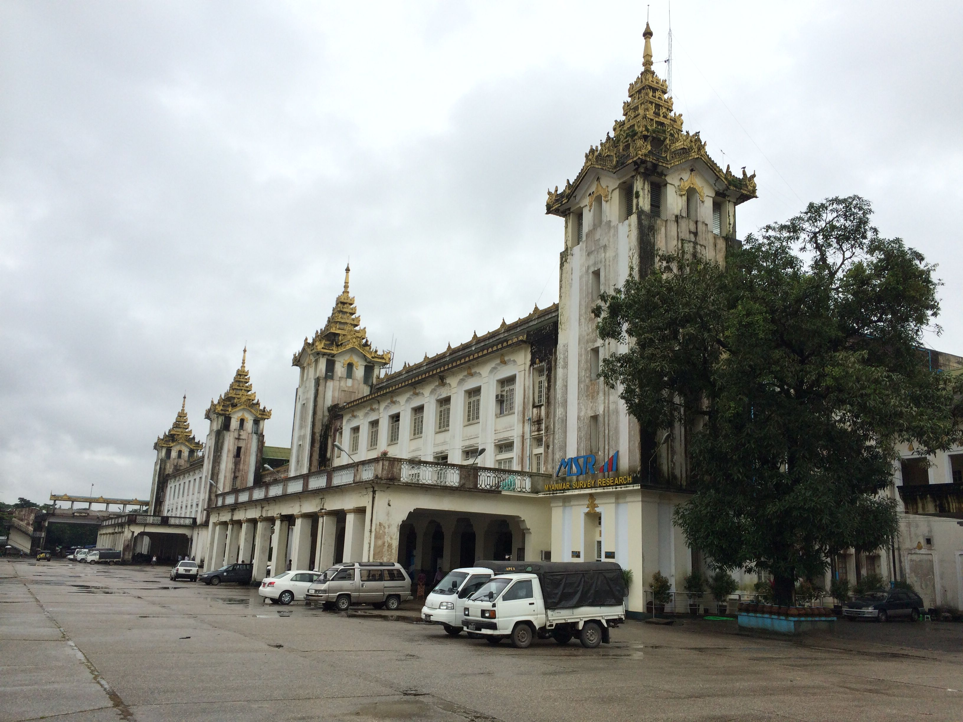 Yangon railway station