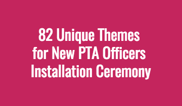 Are you looking for new ideas for your PTA Officer ...