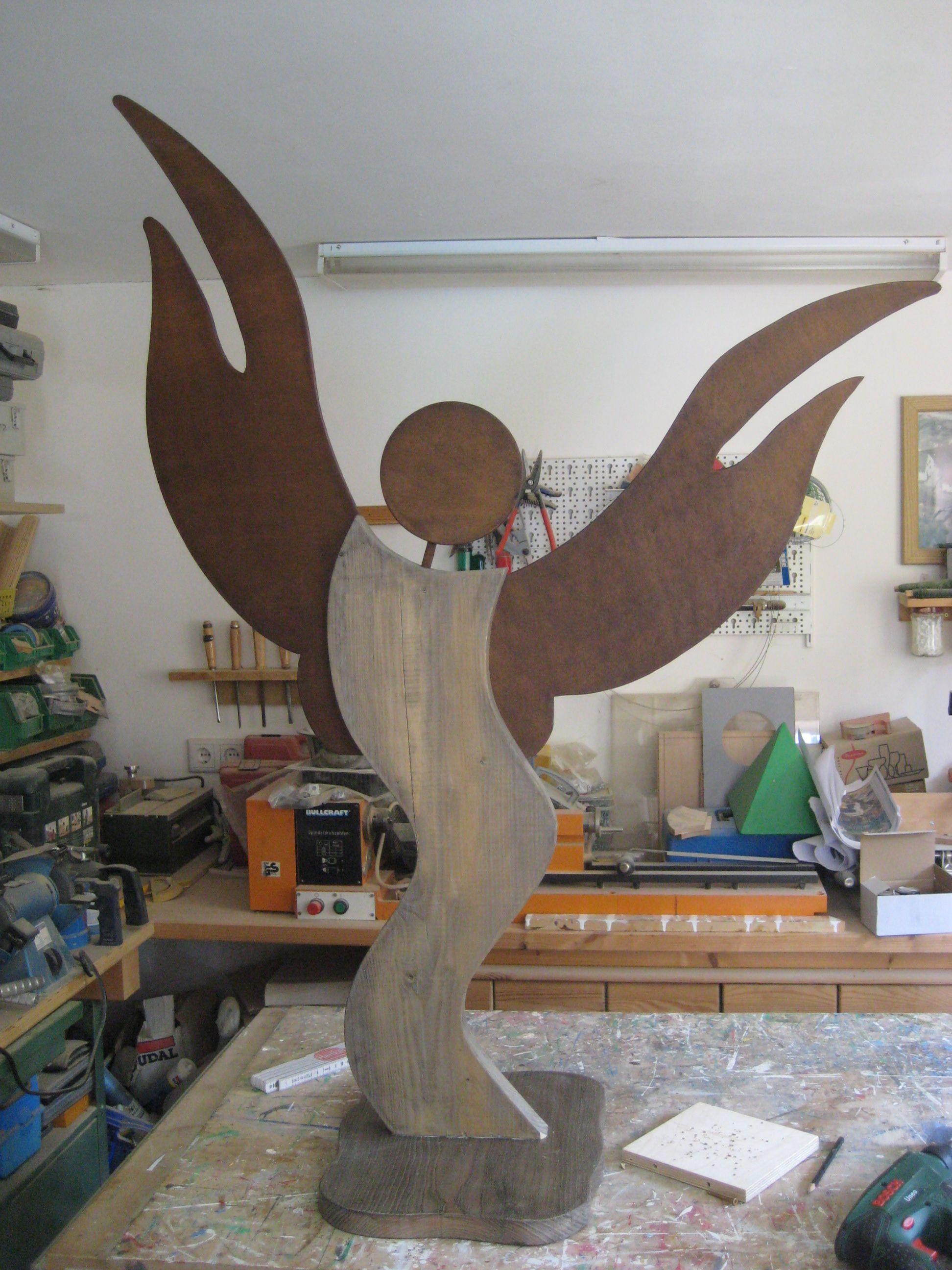 Schutzengel Oder Weihnachtsdeko Bauanleitung Zum Selber Bauen Dekor Holzhandwerk Muster Weihnachtsdeko Holz