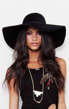 big black floppy hat - Google Search  f03d53a0be3