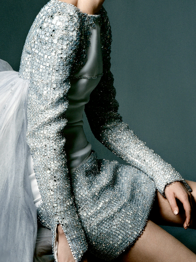 Chanel Couture photographed by Daniel Jackson for WSJ Magazine