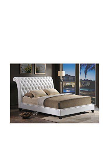 Love This Light Beige Jazmin Tufted Modern Bed Upholstered