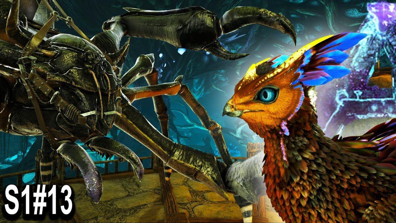 ARK MAX LVL KARKINOS TAMING + FEATHERLIGHT HATCHING!! Ark Survival