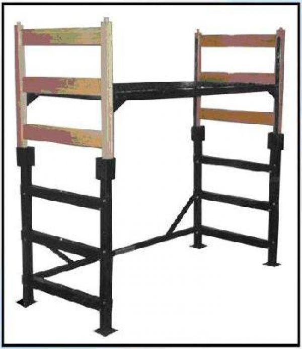 turns a regular college bed into a lofted bed! great for