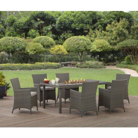 Better Homes and Gardens Anchorage Valley Contemporary Wicker 7pc ...