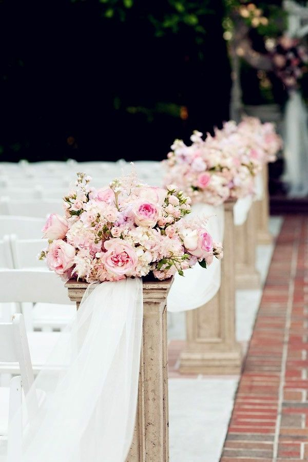 Atemberaubende Blumendeko für Hochzeit! | Standesamt Deko Garten ...