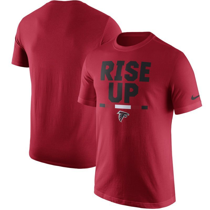 be34056f Atlanta Falcons Nike Local Verbiage T-Shirt - Red | Products | T ...