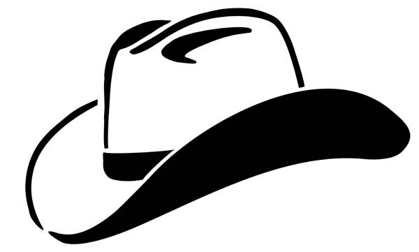 Cowboy Hat Clipart Black And White Clipart Panda Free Clipart Images Cowboy Hats Free Clip Art Silhouette Clip Art