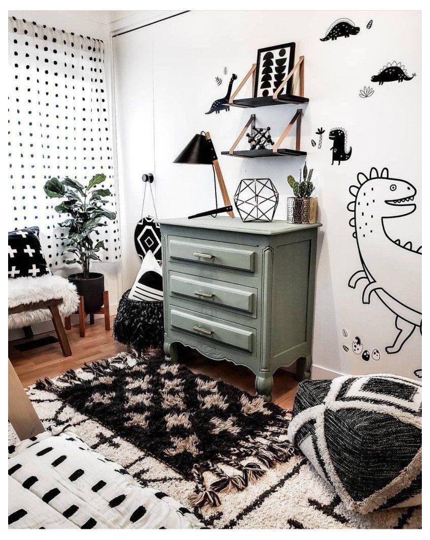 12 Amazing Dinosaur Inspired Bedrooms For Kids Dinosaur Kids Room Ideas Dinosaurkidsroomideas H In 2021 Little Boy Bedroom Ideas Toddler Rooms Boy Toddler Bedroom