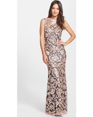 womens-tadashi-shoji-sequin-lace-mermaid-dress (320×400) | Dresses ...