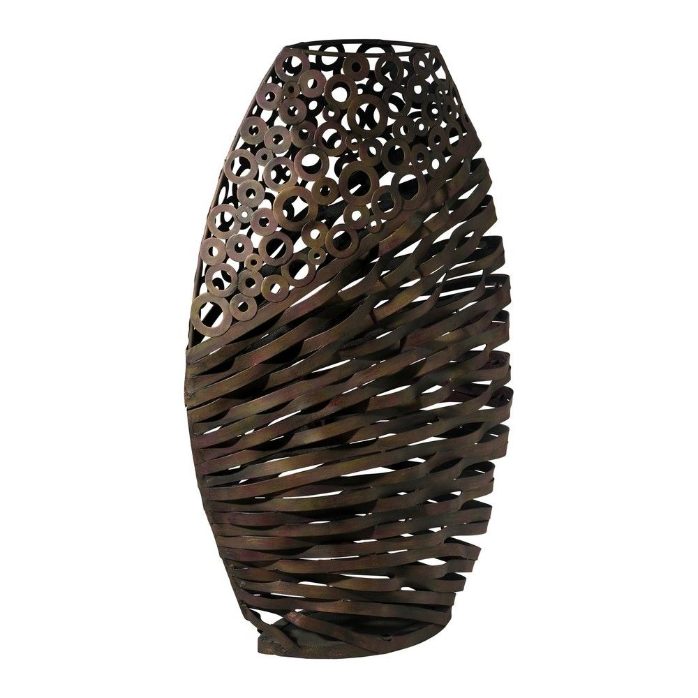 Furniture Sculpture | Buy Cyan Design Alicia Wire Vase Sculpture In  Byzantine Oxide On Sale .